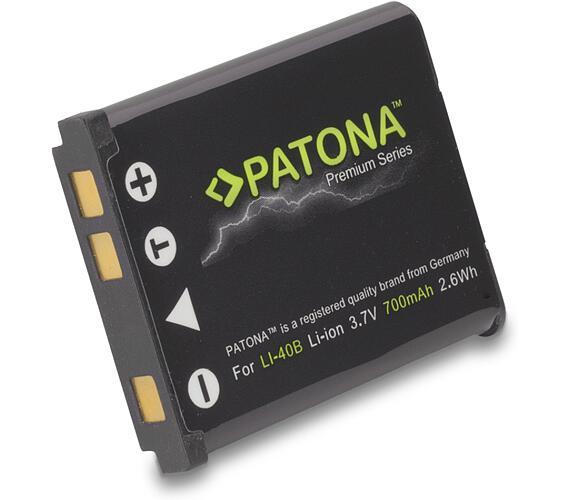 PATONA baterie pro foto Rollei Compactline 800/ Olympus Li-40B/ Li-42B 700mAh Li-Ion Premium
