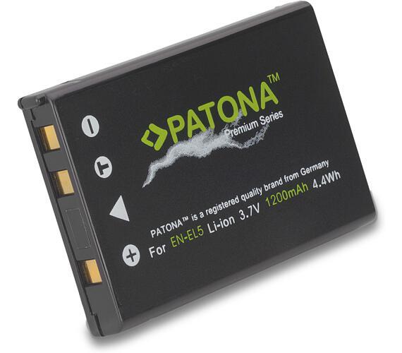 PATONA baterie pro foto Nikon EN-EL5 1200mAh Li-Ion Premium
