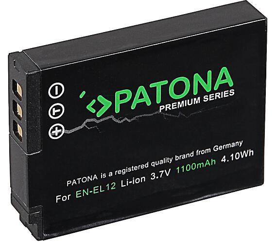 PATONA baterie pro foto Nikon EN-EL12 1100mAh Li-Ion Premium (PT1168)