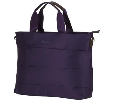 """PORTCASE taška na notebook KCB-70/ 15-16""""/ elegantní/ dámská/ nylon/ tmavě fialová"""