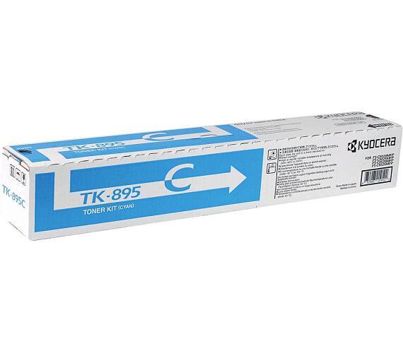 Kyocera toner TK-895C/ FS-802x/ 6 000 stran/ Modrý