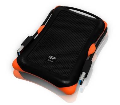 SILICON POWER 2TB Externí pevný disk Armor A30/ USB3.0/ Vysoce odolný/ Černý + DOPRAVA ZDARMA