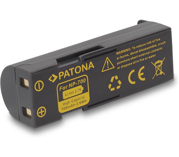 PATONA baterie pro foto Samsung SLB0637 700mAh Li-Ion (PT1178)