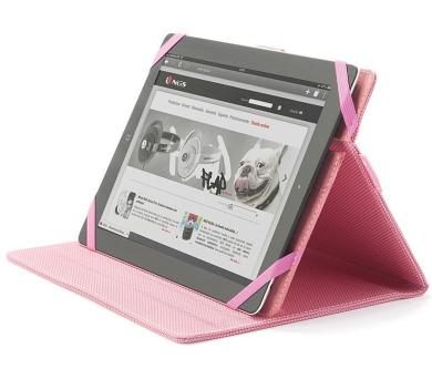 "NGS stojan a pouzdro na tablet PINKMOBPLUS/ pro 9 - 10,1"" tablety/ Růžové"