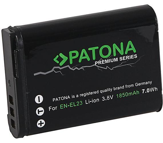 PATONA baterie pro foto Nikon EN-EL23 1850mAh Li-Ion Premium (PT1220)