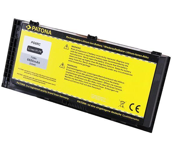 PATONA baterie pro ntb DELL PRECISION M4600 6600mAh Li-Ion 10,8V (PT2354) + DOPRAVA ZDARMA