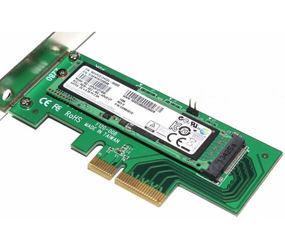 Kouwell DT-120 / PCI-E řadič / pro M.2 NVMe SSD disky