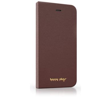 Happy Plugs iPhone 6 Flip Case - Brown