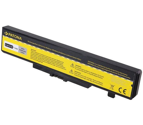 PATONA baterie pro ntb LENOVO G580 4400mAh Li-Ion 11,1V (PT2386) + DOPRAVA ZDARMA