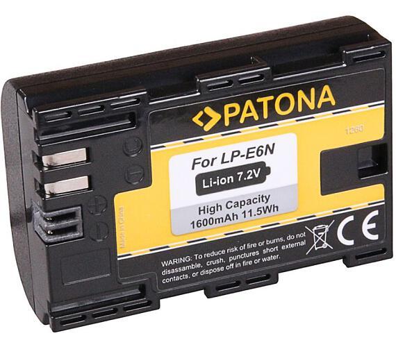 PATONA baterie pro foto Canon LP-E6N 1600mAh Li-Ion (PT1260)