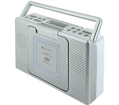 Soundmaster BCD480 rádio s CD přehrávačem / do kuchyně/koupelny / AM/FM / CD/CD-R/CD-RW / LCD