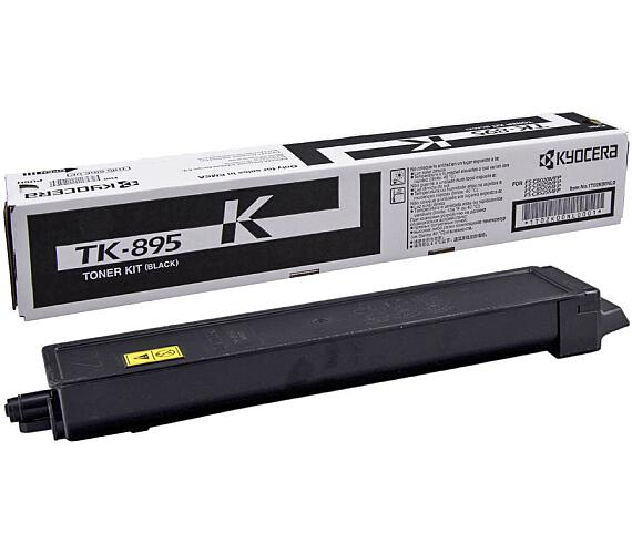 Kyocera toner TK-895K/ FS-802x/ 12 000 stran/ Black