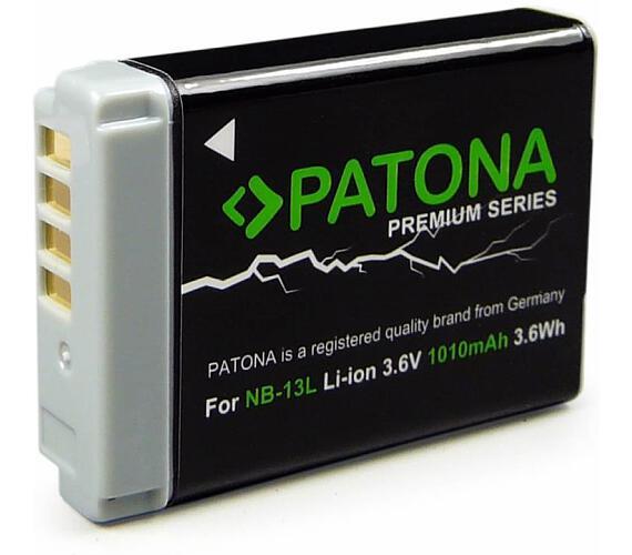 PATONA baterie pro foto Canon NB-13L 1010mAh Li-Ion + DOPRAVA ZDARMA