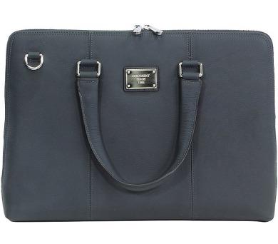 """CONTINENT taška na notebook CL-105/ 15-16""""/ kožená/ elegantní/ dámská/ modrá + DOPRAVA ZDARMA"""