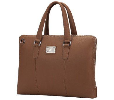 """CONTINENT taška na notebook CL-105/ 15-16""""/ kožená/ elegantní/ dámská/ hnědá + DOPRAVA ZDARMA"""