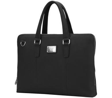 """CONTINENT taška na notebook CL-105/ 15-16""""/ kožená/ elegantní/ dámská/ černá + DOPRAVA ZDARMA"""