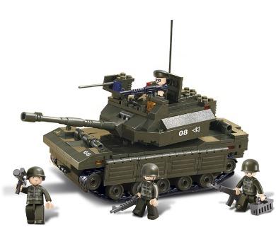 SLUBAN stavebnice Tank + DOPRAVA ZDARMA