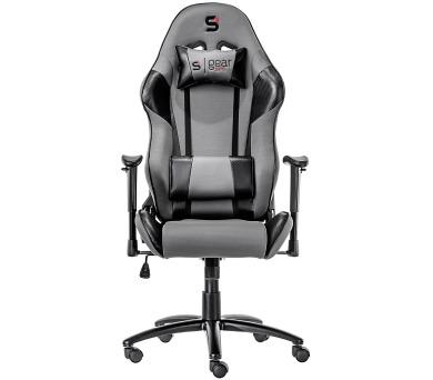 SPC Gear SR300 GY herní židle šedá - textilní + DOPRAVA ZDARMA