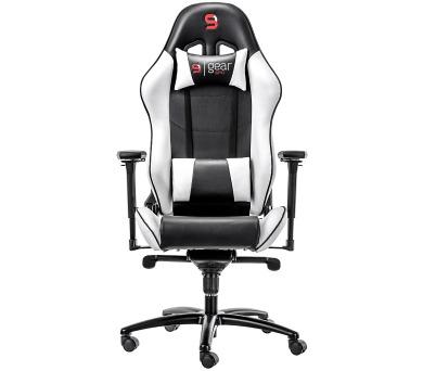 SPC Gear SR500 WH herní židle bílá - kožená (SPG007) + DOPRAVA ZDARMA