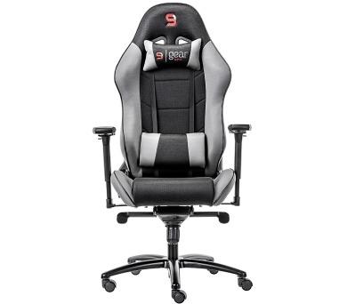 SPC Gear SR500 GY herní židle šedá - textilní (SPG008) + DOPRAVA ZDARMA