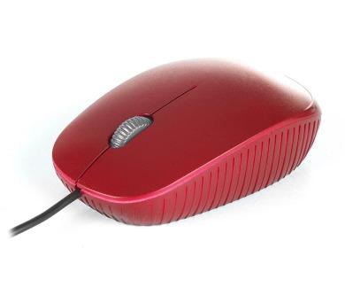 NGS myš FLAME/ Drátová/ 1000 dpi/ USB/ Červená