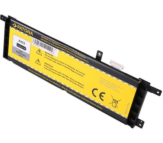 PATONA baterie pro ntb ASUS X453 4000mAh Li-Pol 7,2V (PT2455) + DOPRAVA ZDARMA