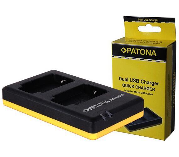 PATONA nabíječka Foto Dual Quick Panasonic VBT180/360 USB (PT1938)