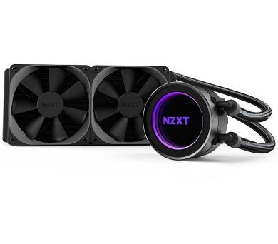 NZXT vodní chladič Kraken X52 / 2x 120mm fan / LGA 2011-3/1366/1156/1155/1150/FM2/FM1/AM3+/AM3/AM2+/AM2 / 6 let (RL-KRX52-02)