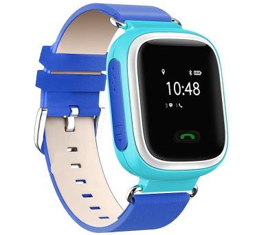 HELMER dětské hodinky LK 702 s GPS lokátorem/ micro SIM/ IP54/ kompatibilní s Android a iOS/ modré (Helmer LK 702 B)