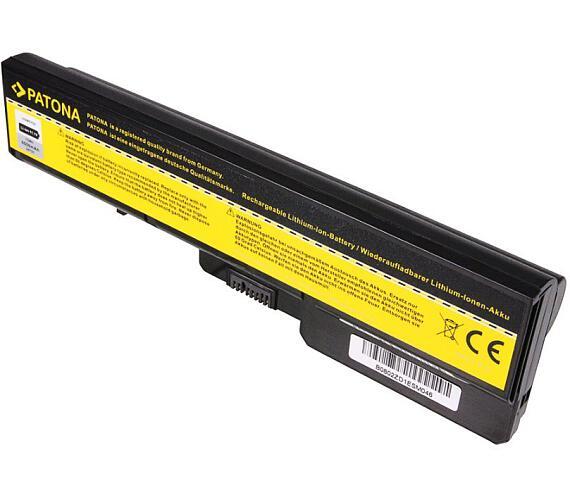 PATONA baterie pro ntb LENOVO IdeaPad G560 6600mAh Li-Ion 11,1V + DOPRAVA ZDARMA