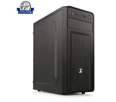 SilentiumPC skříň MidT Brutus M10 / 2x USB3.0 / CardReader / Kensington Lock / černý