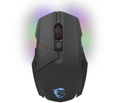 MSI herní myš CLUTCH GM70 Gaming/ bezdrátová/ 18.000dpi / 8 tlačítek/ RGB/ USB (S12-0401450-D2