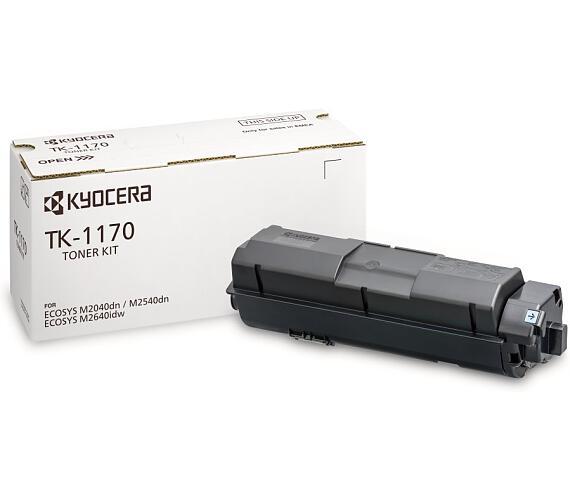 Kyocera toner TK-1170/ pro M2040dn/M2540dn/M2640idw/ 7 200 stran/ černý + DOPRAVA ZDARMA