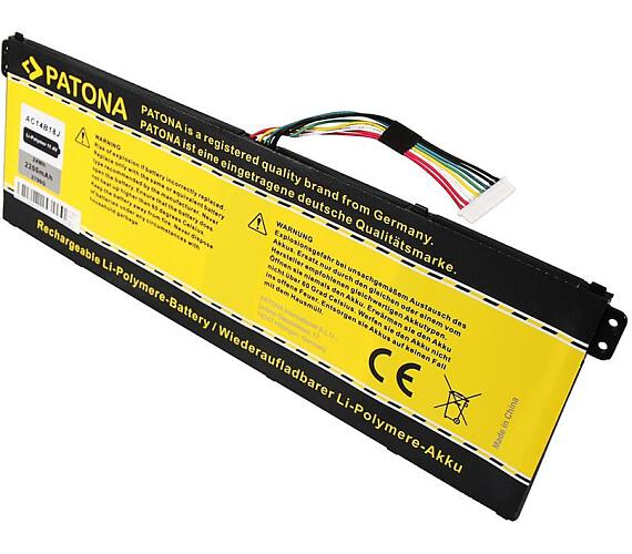 PATONA baterie pro ntb ACER Aspire E2-111 2200mAh Li-Pol 11,1V (PT2796) + DOPRAVA ZDARMA