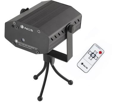 NGS SPECTRAPRISM/ laserové párty světlo/ Dálkové ovládání