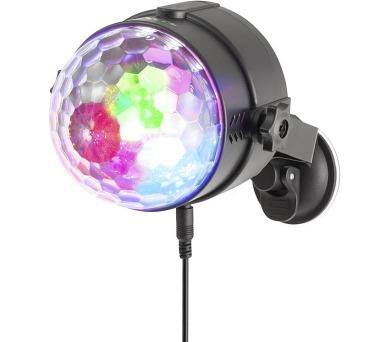 NGS SPECTRARAVE/ Párty LED světlo/ 3x barvy/ USB/ Dálkové ovládání