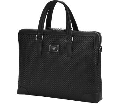 """CONTINENT taška na notebook CM-171/ 15-16""""/ EKO kůže/ elegantní/ dámská/ černá (CM-171 Black) + DOPRAVA ZDARMA"""