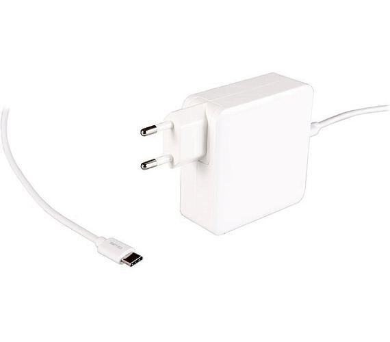 PATONA napájecí adaptér k ntb/ 5V-20V/ 65W/ konektor USB 3.1 (Typ C)/ délka kabelu 2m/ bílý/ Power delivery (PT2559)