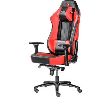 SPC Gear SR700 RD herní židle prostorná / do 195 cm/ do 150 kg / červená (SPG010) + DOPRAVA ZDARMA