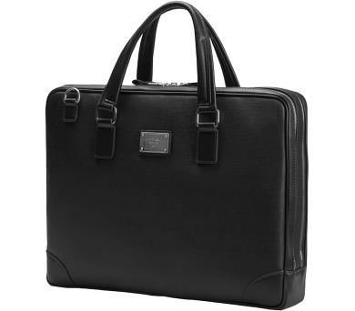 """CONTINENT taška na notebook CM-181/ 15-16""""/ EKO kůže/ elegantní/ dámská/ černá (CM-181 Black) + DOPRAVA ZDARMA"""