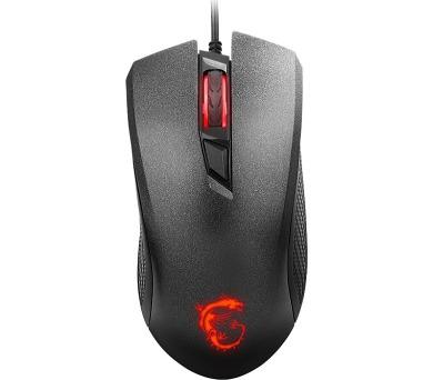 MSI herní myš CLUTCH GM10 Gaming/ 2400 dpi/ 4 tlačítka/ USB (S12-0401530-AP1)