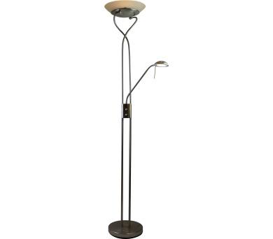 LAMPA STOJACÍ LED 18W/4,5W 1600lm/380lm 3000K + DOPRAVA ZDARMA