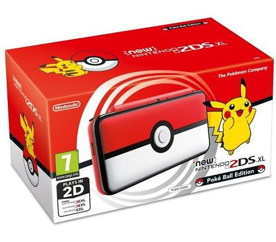 Nintendo 2DS XL Pokéball Edition (NI3H97214)