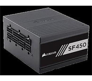 Corsair PC zdroj 450W SF450 modulární 80+ Gold 92mm ventilátor