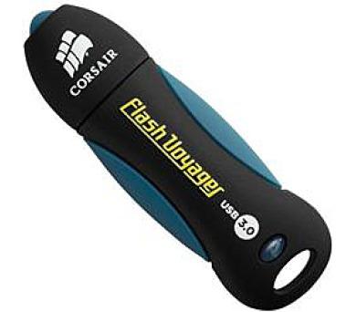 Corsair flash disk 128GB Voyager USB 3.0 (čtení/zápis: 190/60MB/s) modro-černý