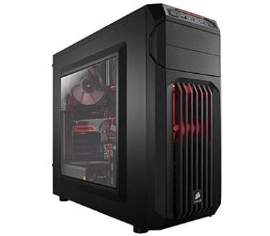 Corsair PC skříň Carbide Series™ SPEC-01 RED LED Mid Tower Gaming