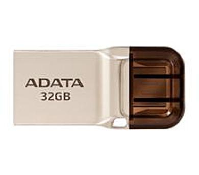 ADATA flash disk 32GB UC360 OTG USB 3.1 micro USB kovový (AUC360-32G-RGD)