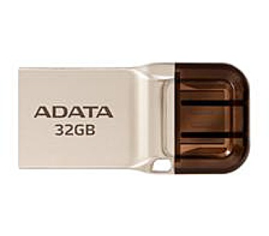 ADATA flash disk 32GB UC360 OTG USB 3.1 micro USB kovový