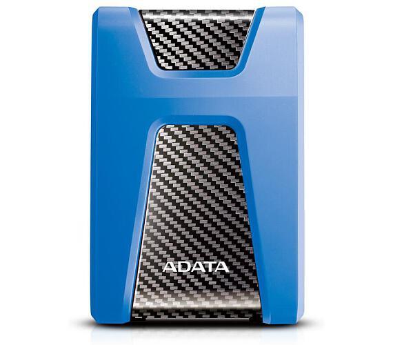 """ADATA externí HDD HD650 2TB USB 3.1 2.5"""" guma/plast (5400 ot./min) modrý (AHD650-2TU31-CBL)"""