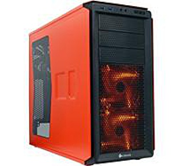 Corsair PC skříň Graphite Series™ 230T Rebel Orange Mid-Tower + DOPRAVA ZDARMA